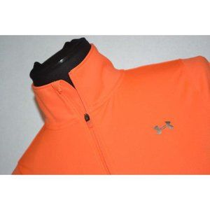 10151 Womens Under Armour Gym Shirt 1/2 Zip Size